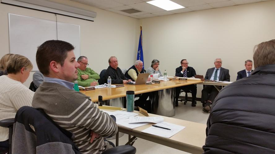 Members of the Legislative Council along with numerous department heads and Town officials crowded the meeting room at Town Hall South for a special meeting January 10 to review requests in the five-year municipal Capital Improvement Plan or CIP.  …