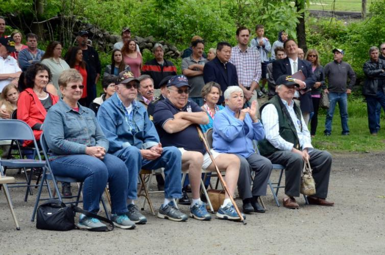 Nearly 100 residents, family members, and supporters of Newtown VFW Post 308 attended brief Memorial Day ceremonies May 28.