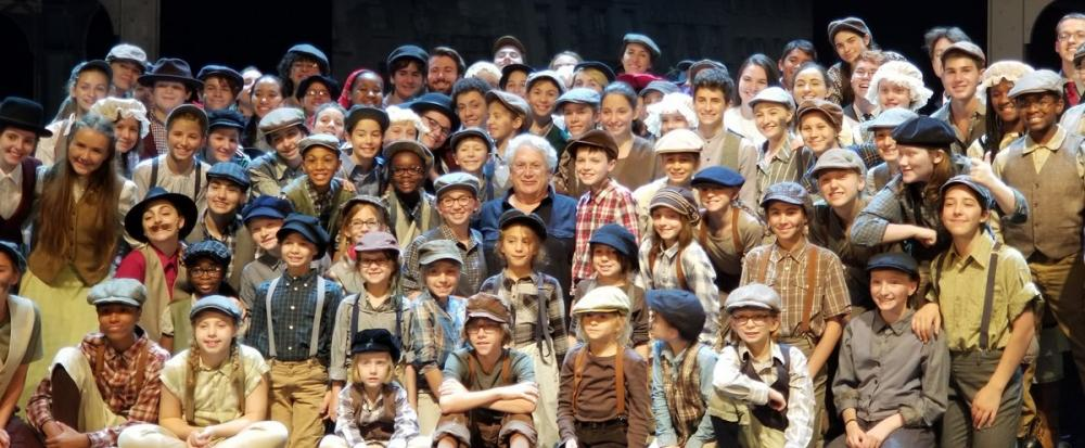 After greeting the cast members and offering some advice and responding to several questions from the clearly ecstatic young troupe members, Harvey Fierstein - who won a Tony and Outer Critics Circle Award in 2012 for his musical book for Newsies -…