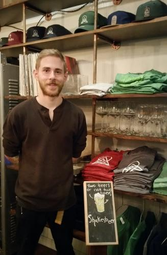 Thanks to an ad in a brewer's trade publication, Nod Hill Brewery made the acquaintance of head brewer Kyle Acenowr. In his previous post at The North Brewery in Endicott, N.Y., Mr Acenowr's beers won multiple awards, and he has brought that passion…