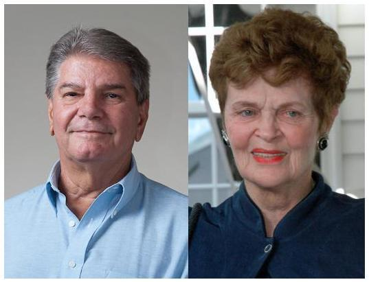 """Longtime Newtown """"treasures"""" Jean St Jean, and James """"Jim"""" Juliano will be honored by the community in a free public event on Sunday, October 8, in the Alexandria Room of Edmond Town Hall, from 3 to 5 pm. A speaking program will commence at about 3…"""