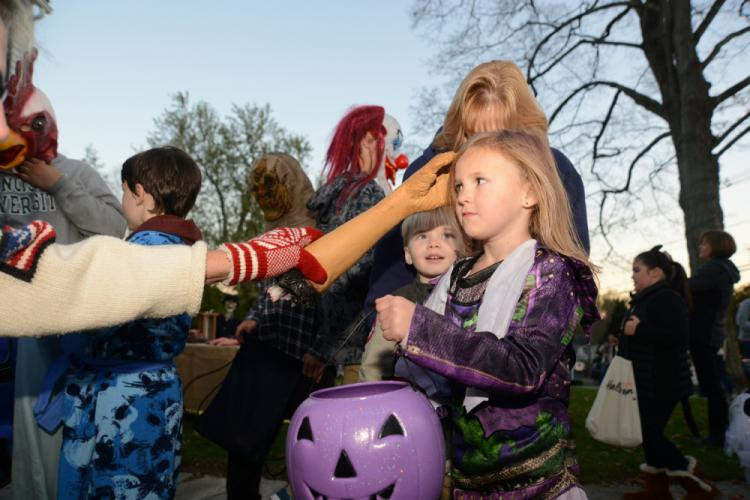 As it does every year, Halloween drew thousands of trick-or-treaters to Newtown's Main Street and adjoining streets on Tuesday, October 31. Beginning in late afternoon, costumed children and parents filled their bags, baskets, and purple pumpkins as…