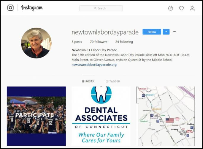 Labor Day Parade Update Parade Committees Instagram Page With Border