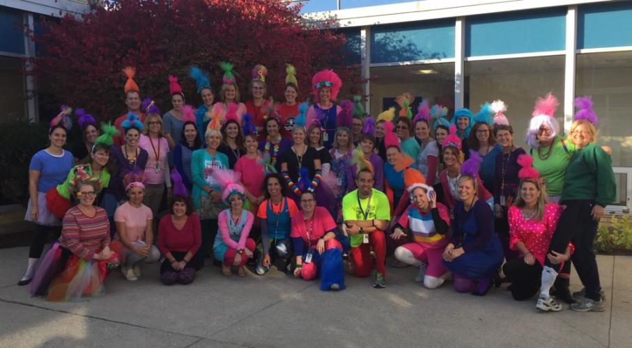 """Trolls"" invaded Middle Gate School this past week."
