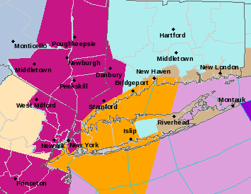 Snow Squall Warning Issued The Newtown Bee - Us-weather-service-map
