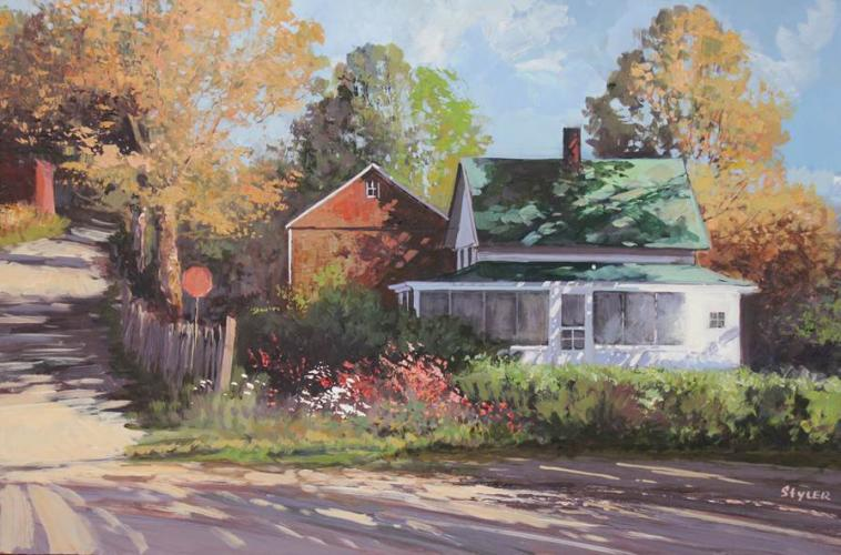 """""""Route 109"""" by Anda Styler, who will be the guest artist for the next Society of Creative Arts of Newtown program."""