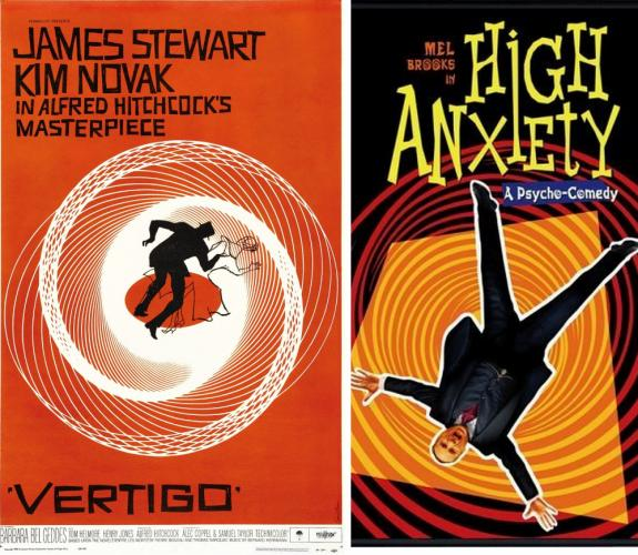Newtown Cultural Arts Commission will offer two screenings of <i>Vertigo</i> and one screening of <i>High Anxiety</i> during its next Someday Cinema Series offering.