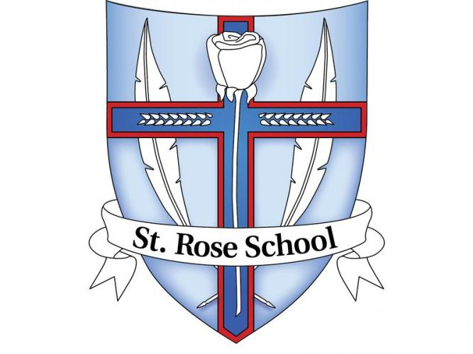 St Rose of Lima School used its former logo for roughly ten years, according to Principal Sister Colleen Therese Smith.
