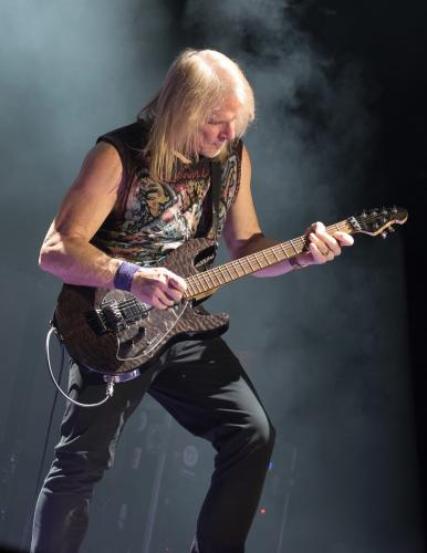 When guitar virtuoso Steve Morse isn't working with The Dixie Dregs, he stays busy writing for various television and movie projects, as well as spending time with a little classic rock outfit called Deep Purple.