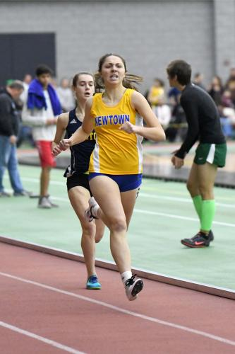 Sarah Houle was second in the 600. (Krista Benson photo)