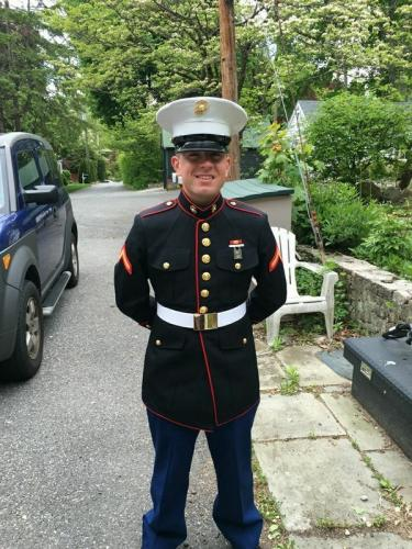 Marine Patrick Magee's unit, currently in Europe, will receive care packages from Head O' Meadow, where his aunt Laurie Martinelli works as the school's secretary.