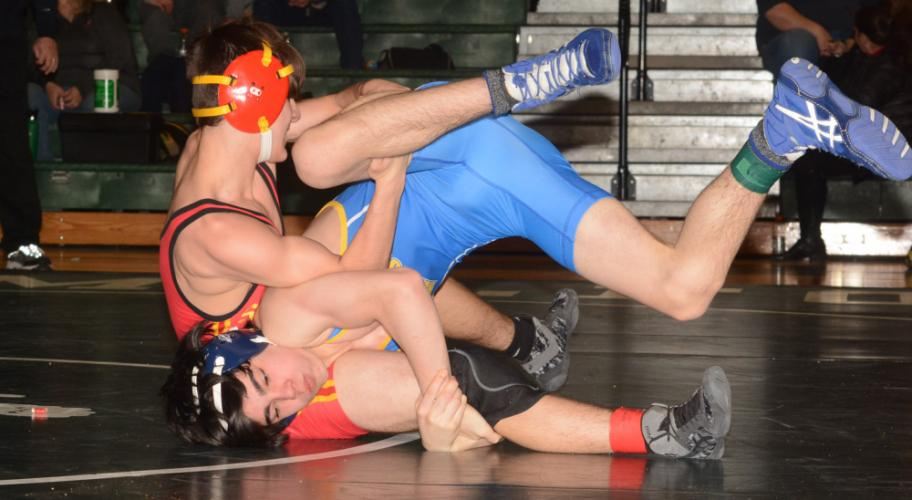 Ben Watson competes during the SWC championships. (Bee Photo, Hutchison)