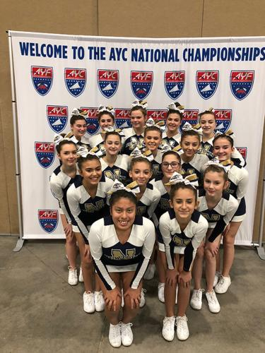 Newtown's D14 cheerleaders won a national title during the weekend of December 9 and 10.
