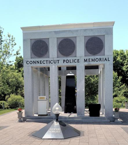 Ketchum Honored At Connecticut Police Memorial The