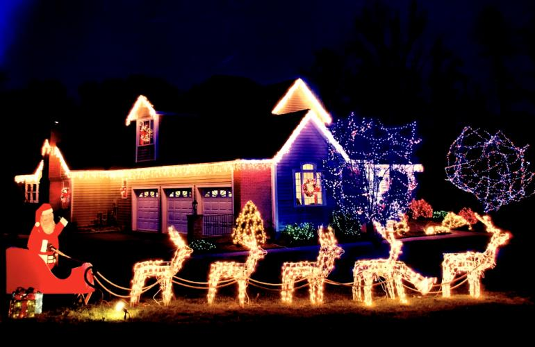 The 2017 Holiday Decorating Contest, for residences and businesses, is underway.