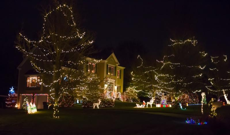 """Number 9 Founders Lane was deemed """"Awe-Inspiring"""" by judges for the Holiday Decoration Contest organized by Sandy Hook resident Lois Barber. -Nicole Maddox, Simply Pause Photography photos"""