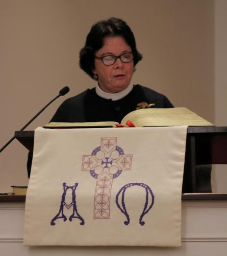 The Reverend Kathleen Adams-Shepherd offered the Gathering and Call To Prayer during the Interfaith Thanksgiving Gathering on November 20. The rector for Trinity Episcopal Church, Rev Adams-Shepherd had formally announced to her congregation a few…