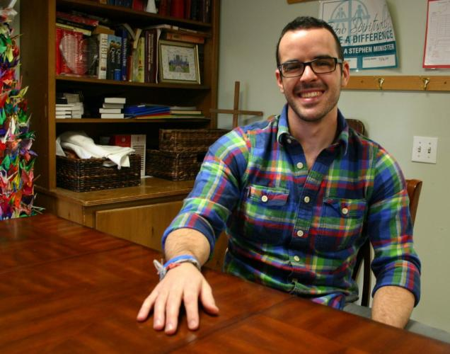 Brendan Fox is not yet ordained, but does have the blessing of Newtown United Methodist Church's trustees, who interviewed and then hired the Bethel resident after a serendipitous series of events brought him to the Sandy Hook church to serve…