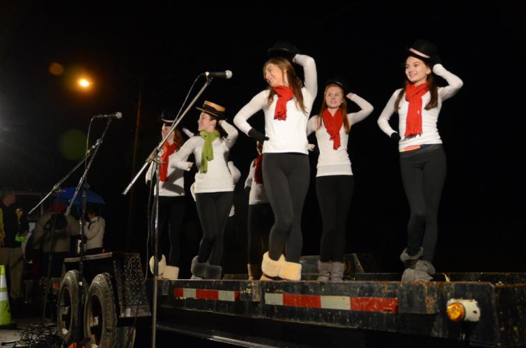 Students from Lathrop School of Dance are again planning to be part of the entertainment leading up to the 7 pm tree lighting at Ram Pasture on December 1.  (Bee file photo)