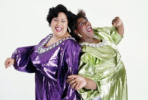 The Weather Girls, Martha Wash, left, and the late Izora Armstead, started out in the gospel group NOW (News of the World) before becoming backup singers with Sylvester in the '70s. They formed the duo Two Tons of Fun, later changing their name to…