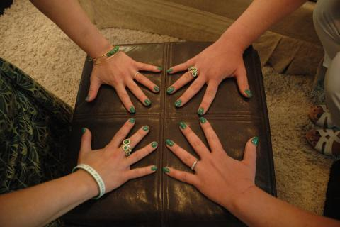 The bright green nail color being modeled is being used by Sandy Hook Promise as a fundraiser for its charitable work in the wake of 12/14. Sandy Hook residents Jennifer Stoltz and Dana Schicker contacted O*P*I to see if the company would be willing…