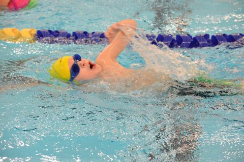 The Newtown Torpedoes Swim-A-Thon, held at Newtown High School on January 31, drew dozens of swimmers who are raising money through donations and pledges for the Newtown Scholarship Association to support The Daniel Barden Newtown Torpedo…