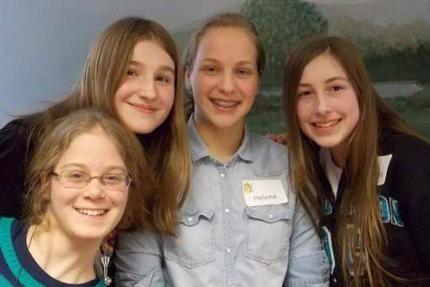 The three-time champions of the Annual Battle of the Books, The Demented Bunnies Who Love to Read, from left, Nicole Palmieri, Katy Cassetta, Helena Szabo, and Arianna Shovak, have aged out of the competition, and a new winning team will be named…