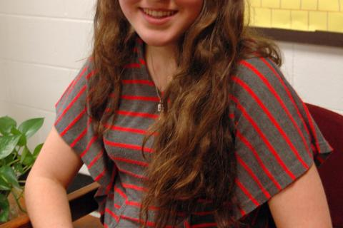 Newtown Middle School eighth grade student Kathryn Blanco is one of eight student authors published in Journeys in Words: Chronicles of Avid Travelers Volume 1.
