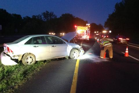 State police report a three-car accident on eastbound Interstate 84, west of Exit 9, at about 4:46 pm on July 1. The autos were traveling in heavy rush-hour traffic when the accident occurred. State police said motorist Michael Seminoro, 32, of…