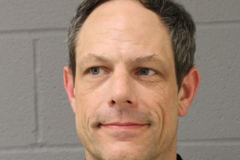 "In a June 30 letter submitted to Newtown's superintendent of schools, eighth grade science teacher Jason M. Adams said he would ""irrevocably resign"" from his employment as a teacher within Newtown public schools system.   (Newtown Police Department photo)"