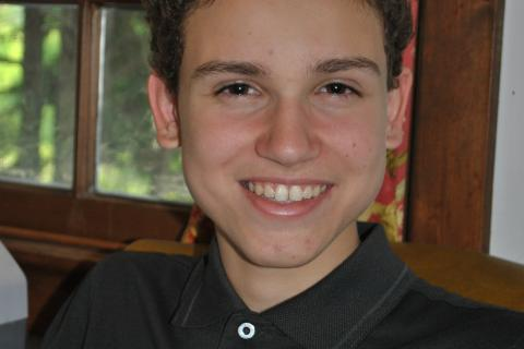 NMS student Michael Arther dedicated over eight months to reading 120 books, as part of the Nutmeg Book Award Intermediate Selection Committee.