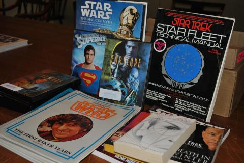 Star Trek, Star Warsand Dr Who selections are among the unusual number of science fiction books, comics, graphic novels and DVDs the Friends will have to sell at this year's book sale.