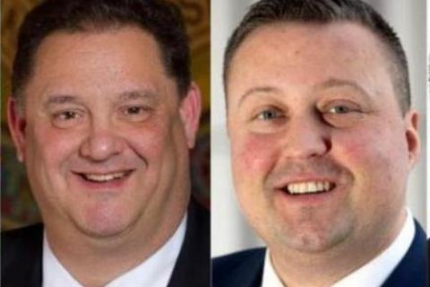 Rep Mitch Bolinsky (R-106) and Rep JP Sredzinski (R-112)