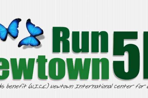 A still of the website, www.runnewtown.com.