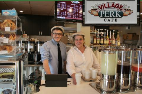 Village Perk Cafe opened its doors at 6:30 this morning, the first day of operations for the new coffee house at 3 Glen Road in Sandy Hook. Nick Tornatore and manager Jennifer Weller were behind the counter this morning, ready to serve customers…