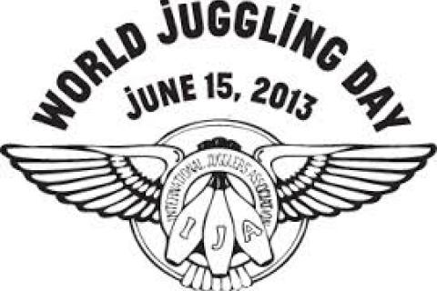 To help spread the fun of juggling and to bring jugglers together all over the world, the International Jugglers' Association will present World Juggling Day (WJD) on Saturday,June 15, 2013.