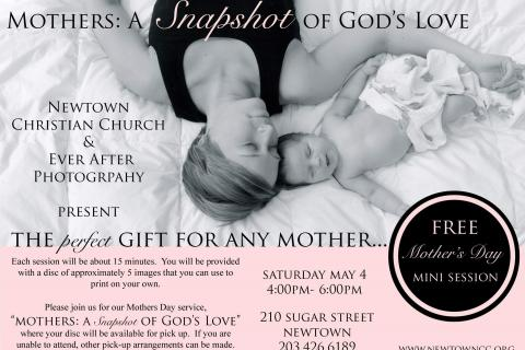 Photographer Janet Kuzma is inviting residents to Newtown Christian Church on Saturday, where she will take photos for families, free of charge. CDs with the digital photo files will be available on May 12.