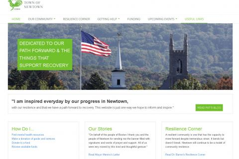 The Town of Newtown, with help from a GE Capital User Experience team in Michigan and its partners, has launched a new website that focuses bringing recovery information together in one location. The new website includes a blog by First Selectman…