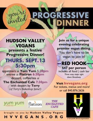 Red Hook Progressive Vegan Dinner
