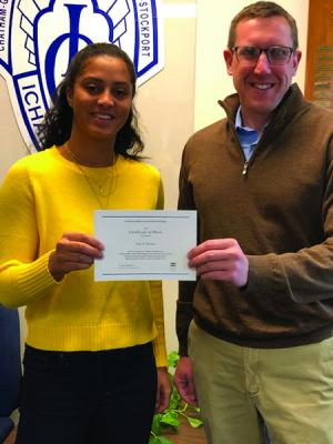 ICC student named National Merit Scholarship finalist   Hudson