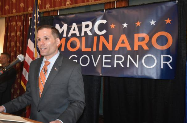 Dutchess County Executive Molinaro announces bid for governor