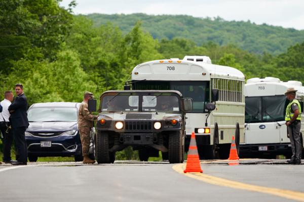 One West Point cadet killed and 22 injured in vehicle accident