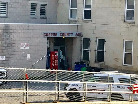 Greene County Jail shut down
