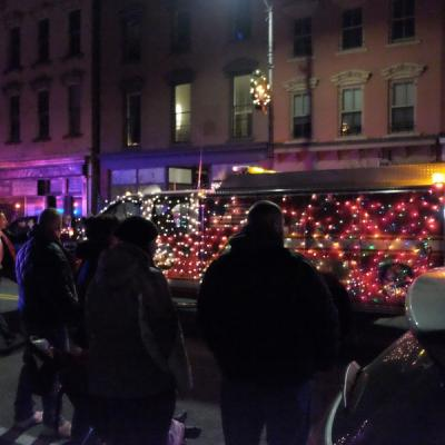 attendees parade of lights bigger and better than ever hudson
