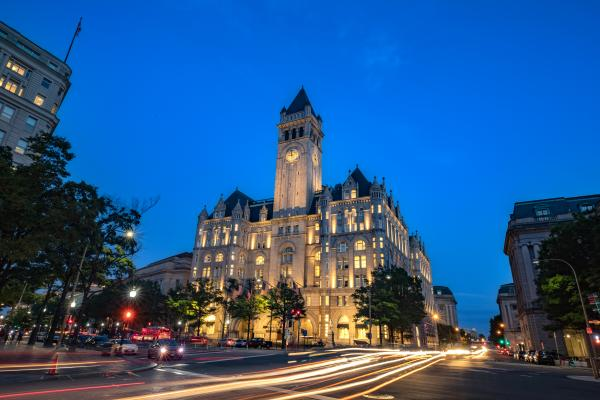 Judge Rules DC, Maryland Have Standing To Sue Trump