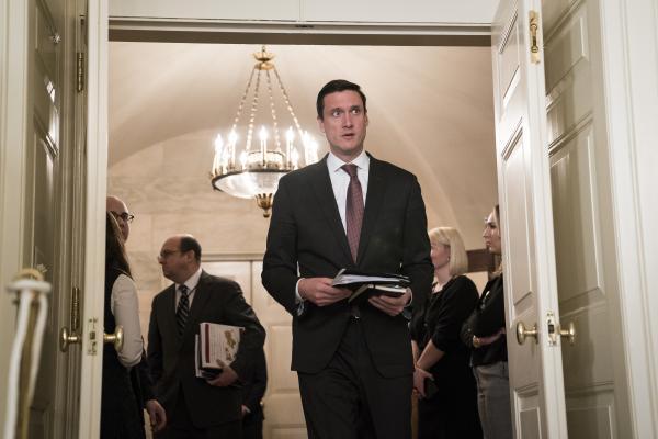 White House Homeland Security Adviser Tom Bossert Resigns