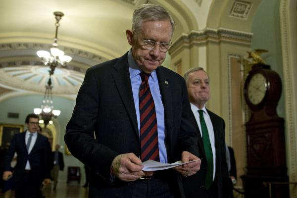 Former US Sen. Harry Reid undergoing cancer treatment