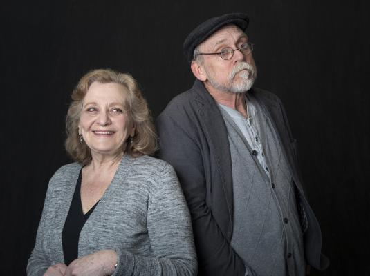 Pictured: Eileen Schuyler and David Bunce. Photo by Katria Foster.