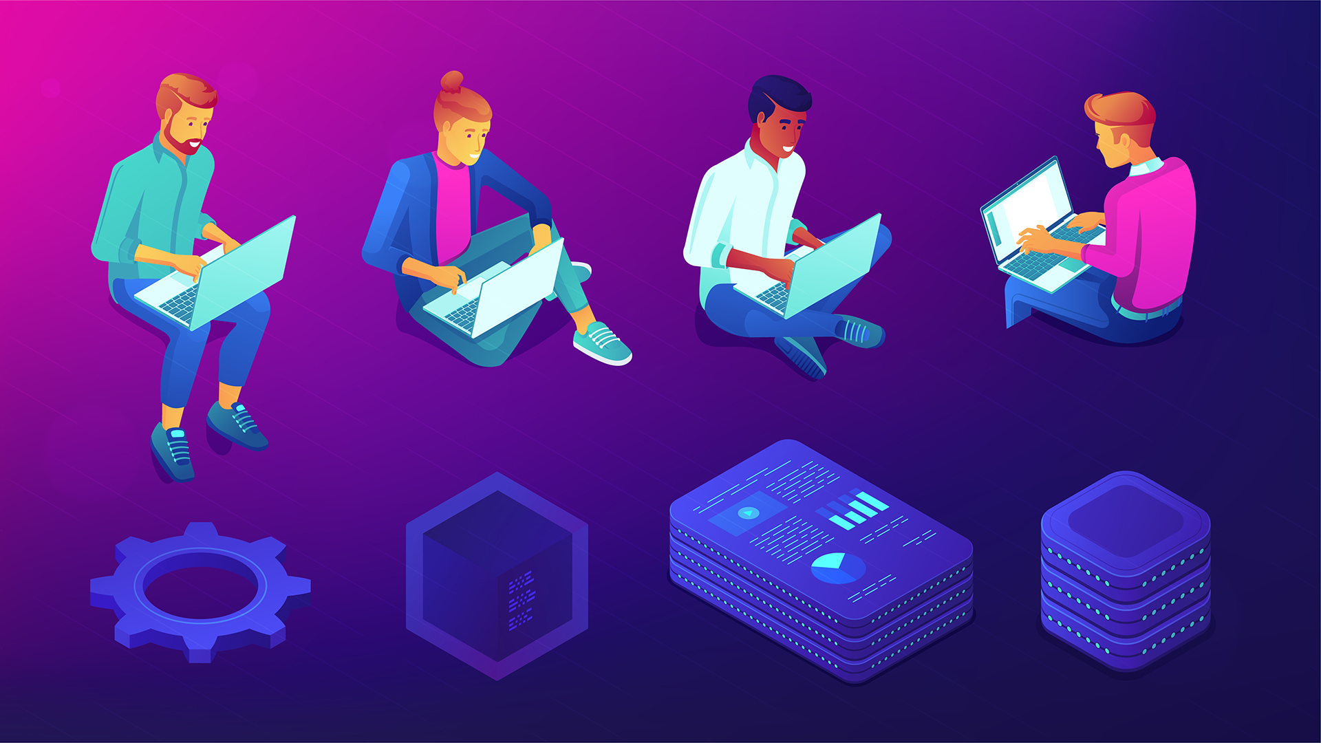 Managing virtual teams of software developers