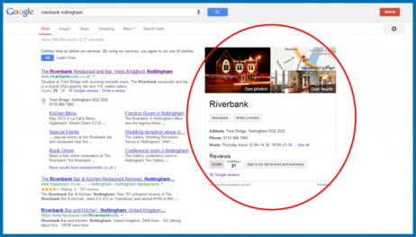 info for d85b0 43dcb Screenshot of a local business search on Google.